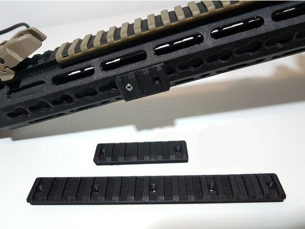 Trilho Keymod Padrão 20-22mm