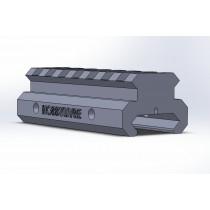 Elevador de Trilho Padrão 20-22mm 2cm Altura