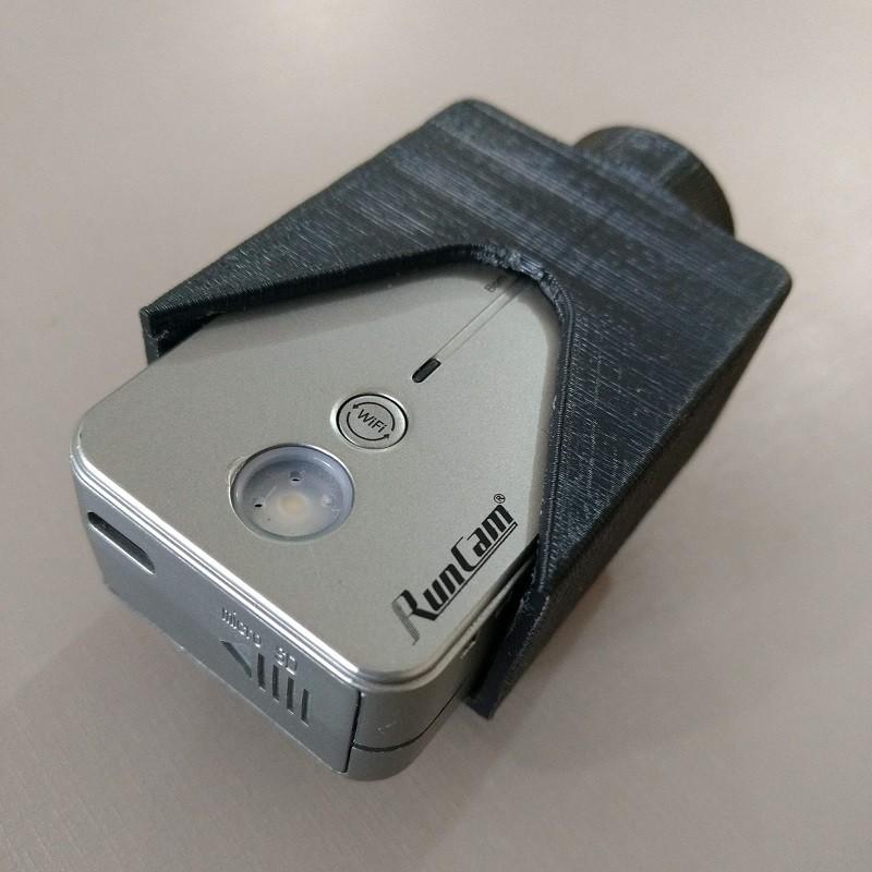Suporte Camera RunCam trilho 20mm