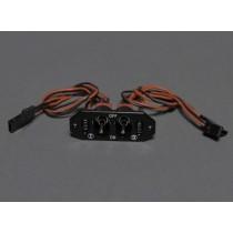 Switch Chave dupla liga/desliga RX e CDI