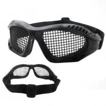 Óculos Telado Preto Para Airsoft / Paintball