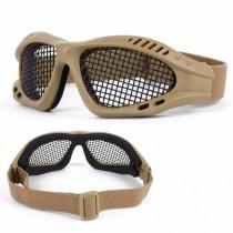 Óculos Telado Tan Para Airsoft / Paintball
