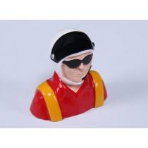 Piloto Aeromodelo Vermelho Altura*Largura*Profundidade (46x46x23)