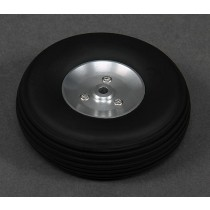 Roda 2.75 Pol Borracha aro alumínio