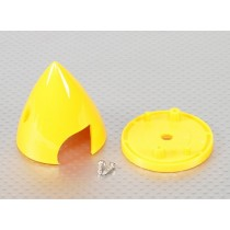 """Spinner 2"""" em Plastico Amarelo"""