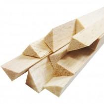 Vareta Balsa Triangular 8 x 8 x 930 mm (1 pc)