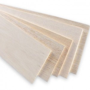 Chapa Balsa Equatoriana 2x100x1000mm AAA  (1pc)